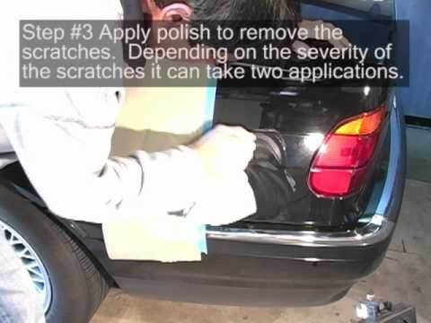 Fix Car Scratches With Ease - Professional Technique By Hand