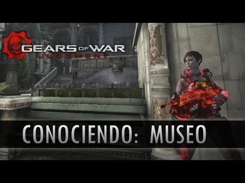 Gears of War Judgment: Conociendo el Mapa de Museo!!