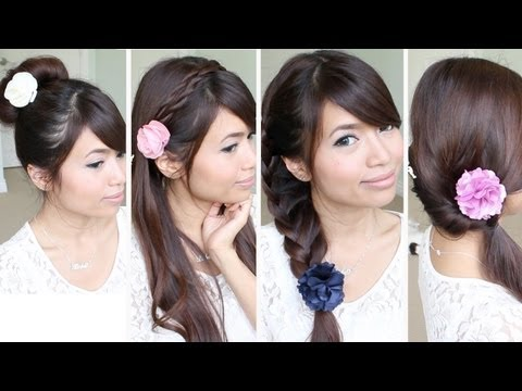 Quick & Easy Back-to-School Hairstyles!