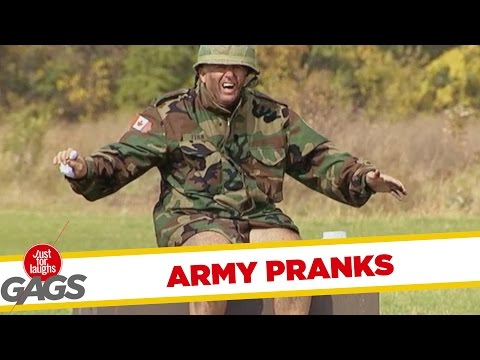 Best Army Pranks - Best Of Just For Laughs Gags