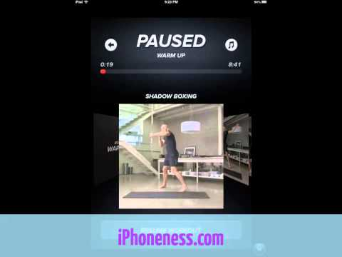 Touchfit GSP Review: iPhone Fitness Training by Georges St-Pierre