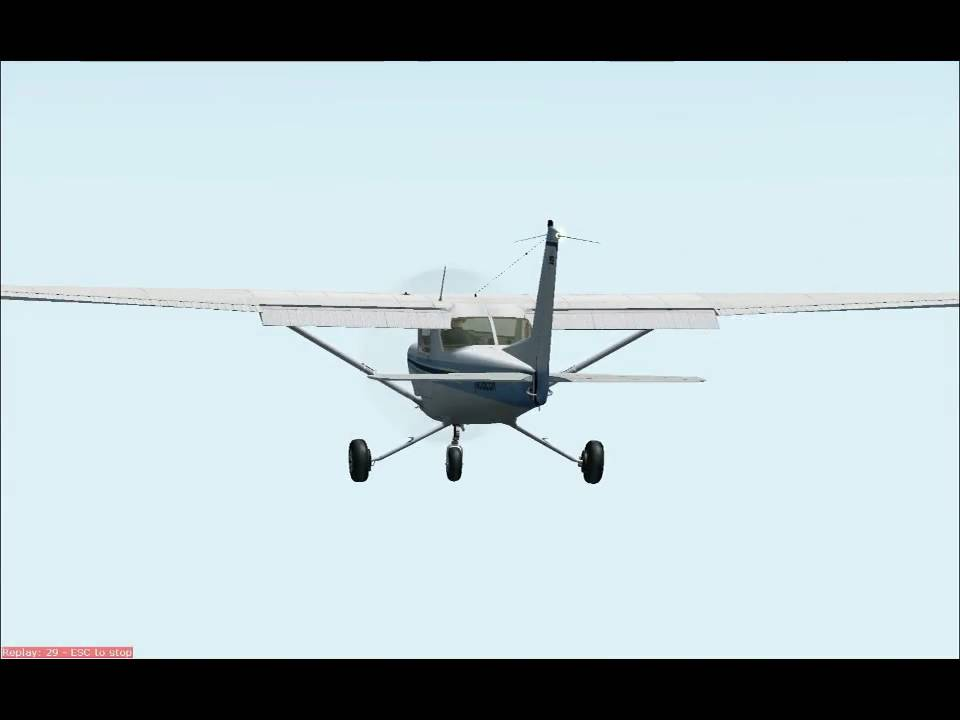 Carenado Cessna 152 Fs9 Fs9 Cessna 152 Touch And go