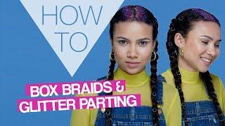 HOW TO | Glitter Boxer Braids | Festival Hair | Superdrug