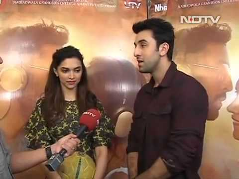 Deepika Padukone and Ranbir Kapoor talk to NDTV.