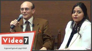 """طالبة بالجامعة الأمريكية لمحمد صبحى: """"علمتنا العزة والشرف يا بابا ونيس"""""""