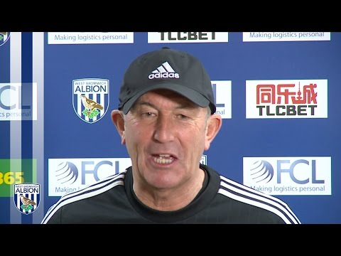 PRESS CONFERENCE: Tony Pulis previews Albion's Premier League trip to Arsenal