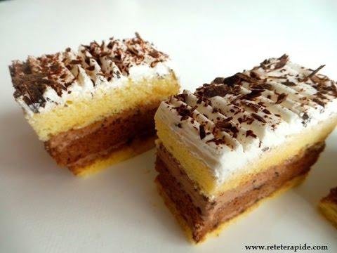 Prajitura Cu Vanilie Si Ciocolata