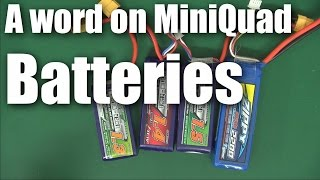 What size mini quadcopter battery should you use?