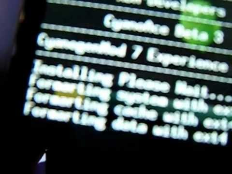 cyanogenmod para samsung galaxy ace y review parte 1