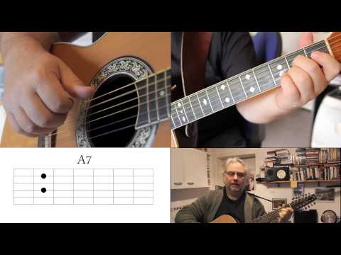 How To Play Desperado On Acoustic Guitar video