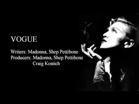 Vogue - Instrumental video