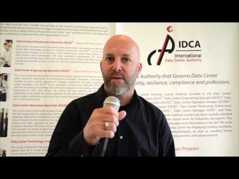 International Data Center Authority (IDCA) Certified Data Center Training
