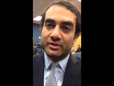 Ghorbah asking Dr. Shadi Hamid during Hearing on Human Rights in Egypt - Nov 3, 2015