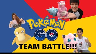 Pokemon Go Team Battle!: Who Became the Pokemon Master? - The Mobizen Team Fights for First