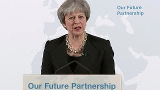 Theresa May's big Brexit speech - watch live