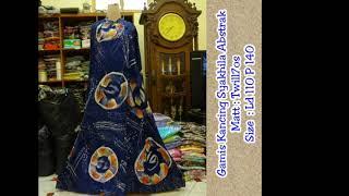 Batik abstrak kontemporer