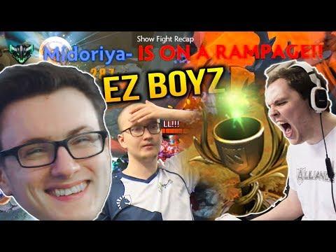 Miracle LIQUID RAMPAGE vs BULLDOG BATTLE CUP EZ GAME 2 Dota 2