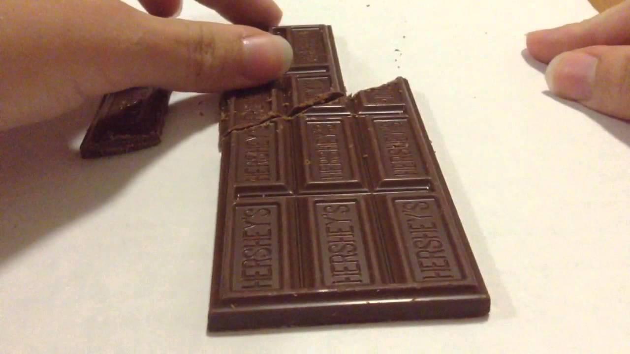 How The Infinite Chocolate Bar Trick Works Youtube