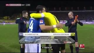 Borussia Dortmund vs Darmstadt 6-0 17/09/16