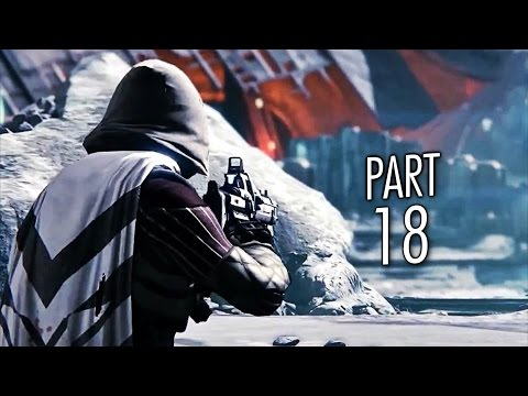 Destiny Gameplay Walkthrough Part 18 - A Rising Tide - Mission 18 (PS4)
