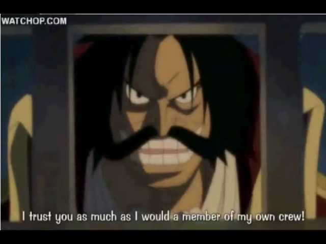 One Piece Roger asks Garp to take care of Ace