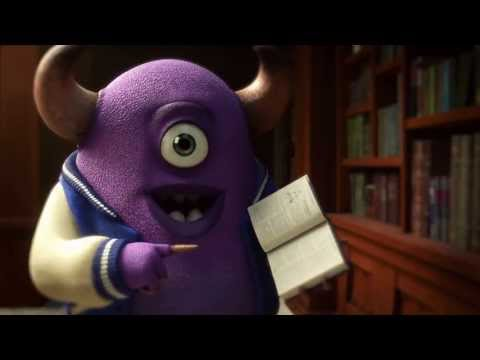 Monsters University - New Trailer - Disney Pixar Official HD