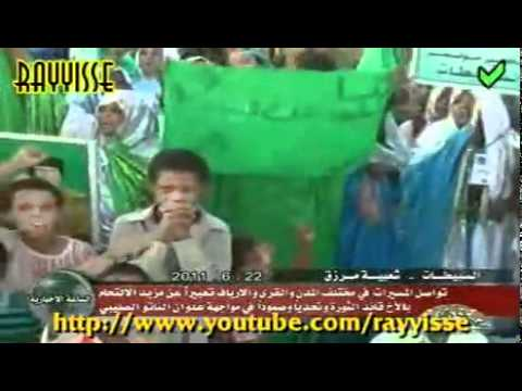 Libyan Demonstration in Murzuq city to support  AL-Gadhafi [22-06-2011]