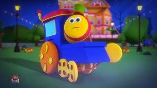 halloween mengalahkan lagu | menaiki kereta | Halloween Beat Song | Bob The Train Indonesia