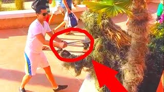 GHILLIE SUIT BEACH PRANKS, SEGWAY THUG LIFE (Scare Prank Compilation & More)