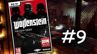 Wolfenstein: The New Order - Akční let's play | #9 | CZ/SK