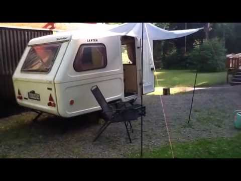 Renovation of caravan Niewiadow. Predom. Enka. Poletta N126E. video 2:2