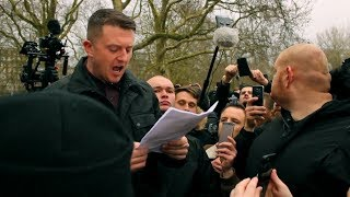 Tommy Robinson / The Martin Sellner Speech /  Violence in the Park | Speakers Corner