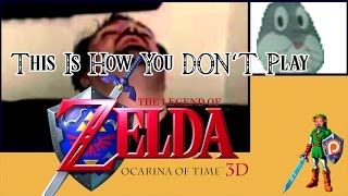 This Is How You DON'T Play The Legend of Zelda Ocarina of Time 3D (Ark Edition)