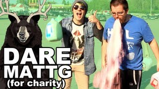 Dare MattG 64 (THE MILK CHALLENGE, Shaving my chest, Chubby Bunny)