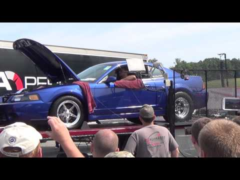 mUstang dyno american muscle event reading,pa 8-16-14