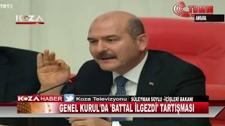 GENEL KURUL'DA 'BATTAL İLGEZDİ' TARTIŞMASI