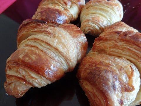 Receta de Croissants/Cruasans caseros - Receta tradicional