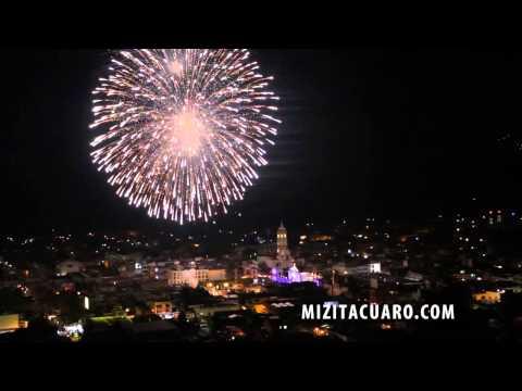 Grito de independencia Zitácuaro 2014