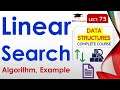 Linear Search Algorithm with Example in Hindi, English
