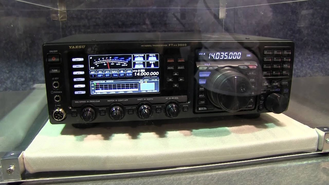 New yaesu ftdx 3000 transceiver at 2012 dayton hamvention for Ft 3000