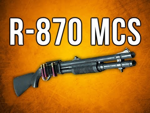 Black Ops 2 In Depth - R-870 MCS Shotgun