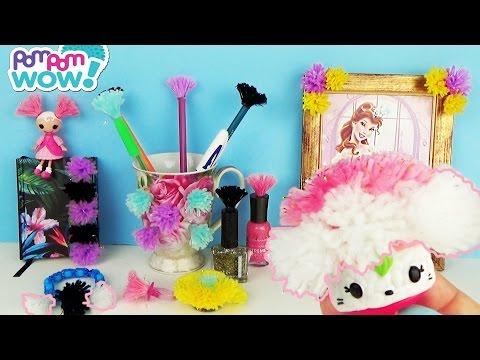 Pom Pom Wow Игровой набор Гламур Украшаем свои вещи мягкими помпонами Видео для девочек
