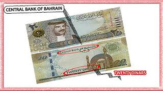 Biggest Notes of  Bahrain Country 20 Dinar
