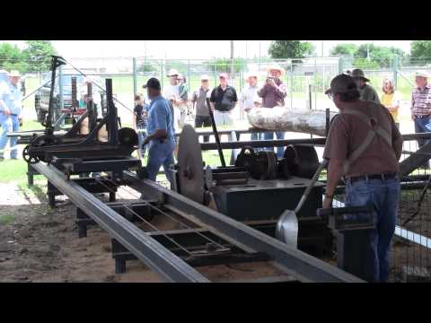 Texas Antique Sawmill