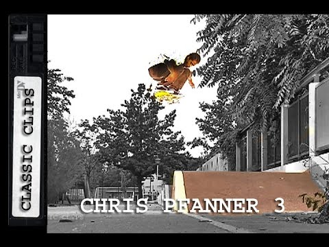 Chris Pfanner Skateboarding Classic Clips #257 Part 3
