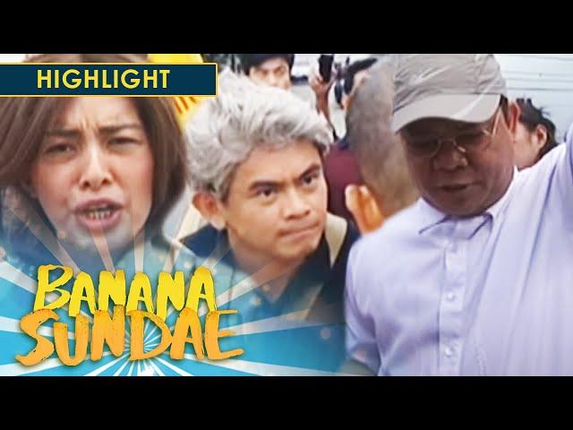 Banana Sundae: People power spoof