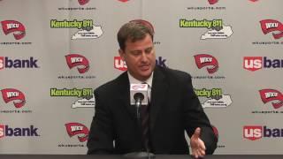 WKU FB Assistant HC Steve Spurrier Jr. 1-10-17