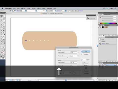 Create an Adhesive Bandage Using Multiple Effects