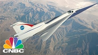 Lockheed Martin And NASA Are Building A Supersonic Plane That's As Quiet As Closing A Door   CNBC