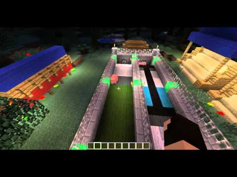 Minecraft Olympics Episode 1 - Mob Racing